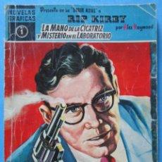 Cómics: RIP KIRBY - LA MANO DE LA CICATRIZ Y MISTERIO EN EL LABORATORIO, Nº 1, EDITORIAL DOLAR 1959. Lote 151609974
