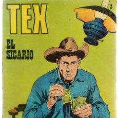 Cómics: TEX. Nº 2. EL SICARIO. BURU LAN 1971 (P/D10). Lote 152025494