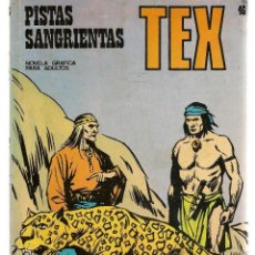 Cómics: TEX. Nº 46. PISTAS SANGRIENTAS. BURU LAN 1971 (P/D10). Lote 152026842