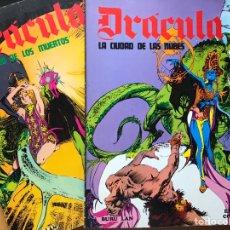 Cómics: DRACULA Y 5 POR INFINTO. Lote 152140917
