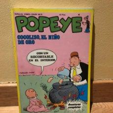 Cómics: POPEYE COCOLISO, EL NIÑO DE ORO NÚMERO 46 BUEN ESTADO. Lote 152229216