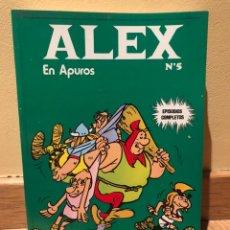 Cómics: ALEX EN APUROS NÚMERO 5 BUEN ESTADO. Lote 152229437