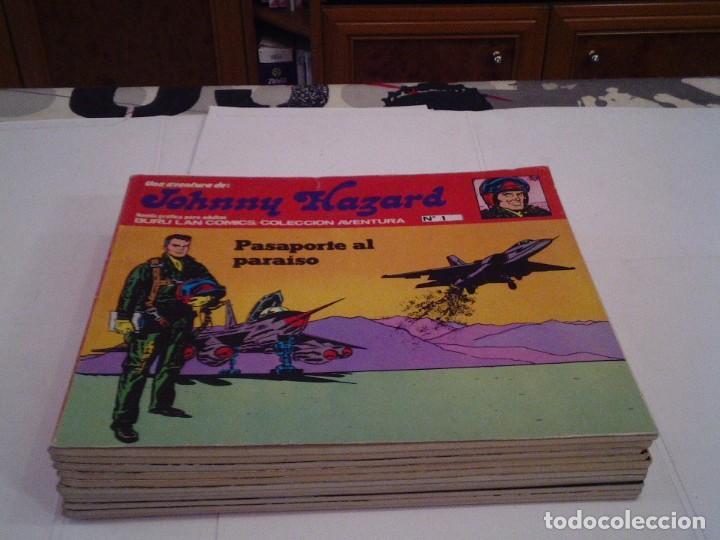 JOHNNY HAZARD - ANTOLOGIA DEL COMIC BURU LAN - COMPLETA - 11 NUMEROS - BUEN ESTADO - GORBAUD -CJ 4 (Tebeos y Comics - Buru-Lan - Otros)
