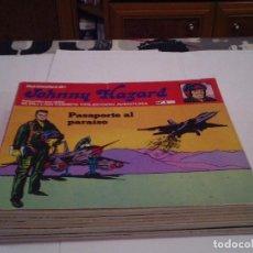 Cómics: JOHNNY HAZARD - ANTOLOGIA DEL COMIC BURU LAN - COMPLETA - 11 NUMEROS - BUEN ESTADO - GORBAUD -CJ 102. Lote 152510522