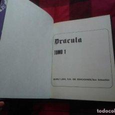 Cómics: DRÁCULA TOMO 1 (UNICO). ENCUADERNADO. BURU LAN, 1971. MUY BUEN ESTADO. Lote 152520362