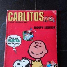 Cómics: CARLITOS Y LOS CEBOLLITAS Nº 3: SNOOPY EDITORIAL BURU LAN BURULAN 1971. Lote 152661190