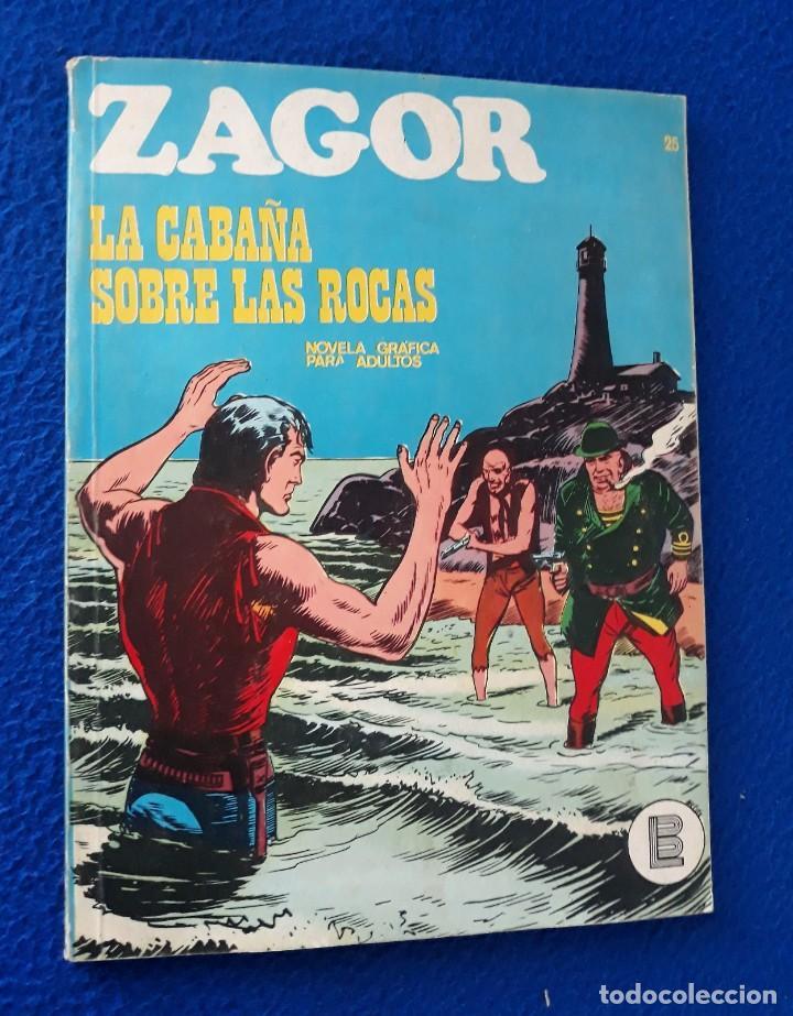 ZAGOR Nº 25 - BURU LAN (Tebeos y Comics - Buru-Lan - Zagor)
