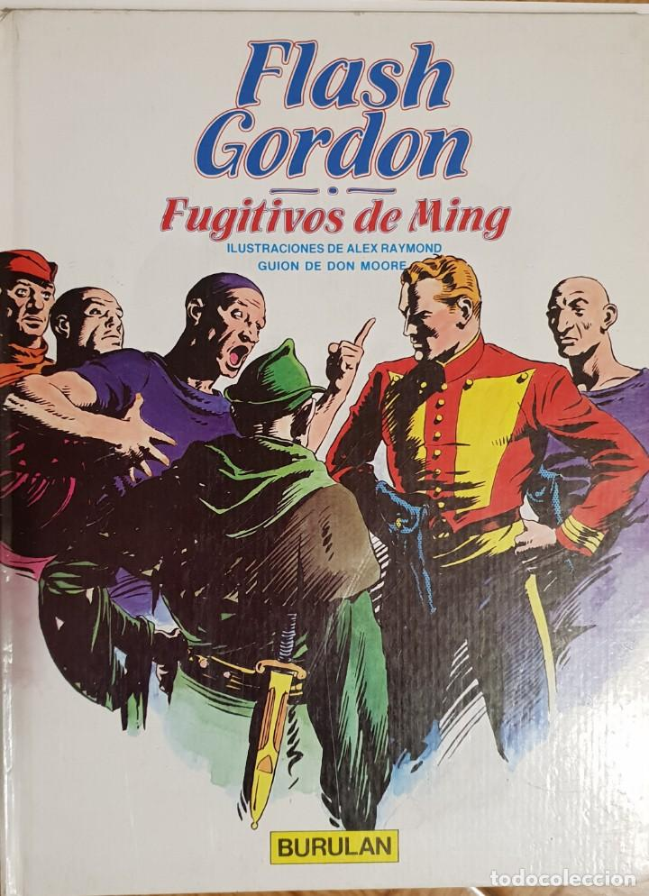 FLASH GORDON. FUGITIVOS DE MING (Tebeos y Comics - Buru-Lan - Flash Gordon)