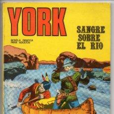 Cómics: YORK Nº 4 (BURU LAN 1971). Lote 153453142