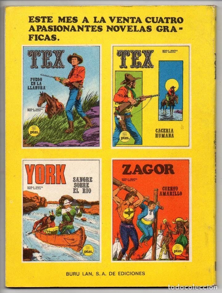 Cómics: YORK nº 4 (Buru Lan 1971) - Foto 3 - 153453142