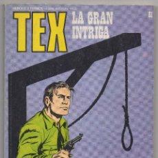 Cómics: TEX Nº 81 (BURU LAN 1974). Lote 153454150