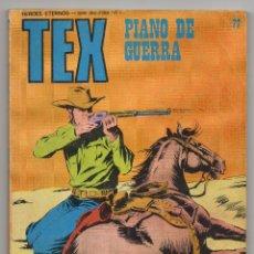 Cómics: TEX Nº 77 (BURU LAN 1973). Lote 153470730