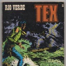 Cómics: TEX Nº 51 (BURU LAN 1972). Lote 153471722