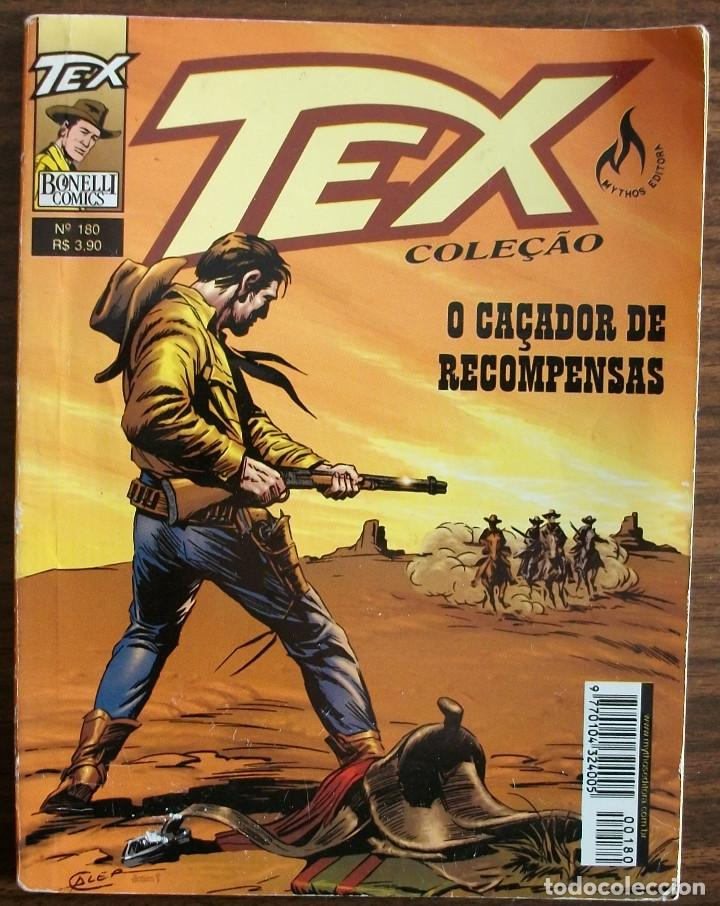 TEX O CAÇADOR DE RECOMPENSAS Nº 180. (Tebeos y Comics - Buru-Lan - Tex)