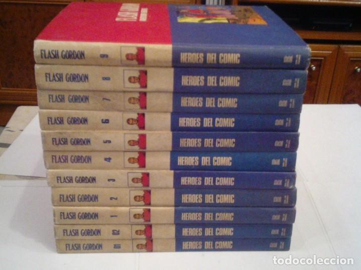 Cómics: FLASH GORDON - BURU LAN - COLECCION COMPLETA - 11 TOMOS - MUY BUEN ESTADO - GORBAUD - Foto 2 - 154370542