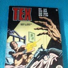 Cómics: TEX - NÚMERO 55 - EL AS DE PIC - FORMATO TACO - BURULAN. Lote 154520702