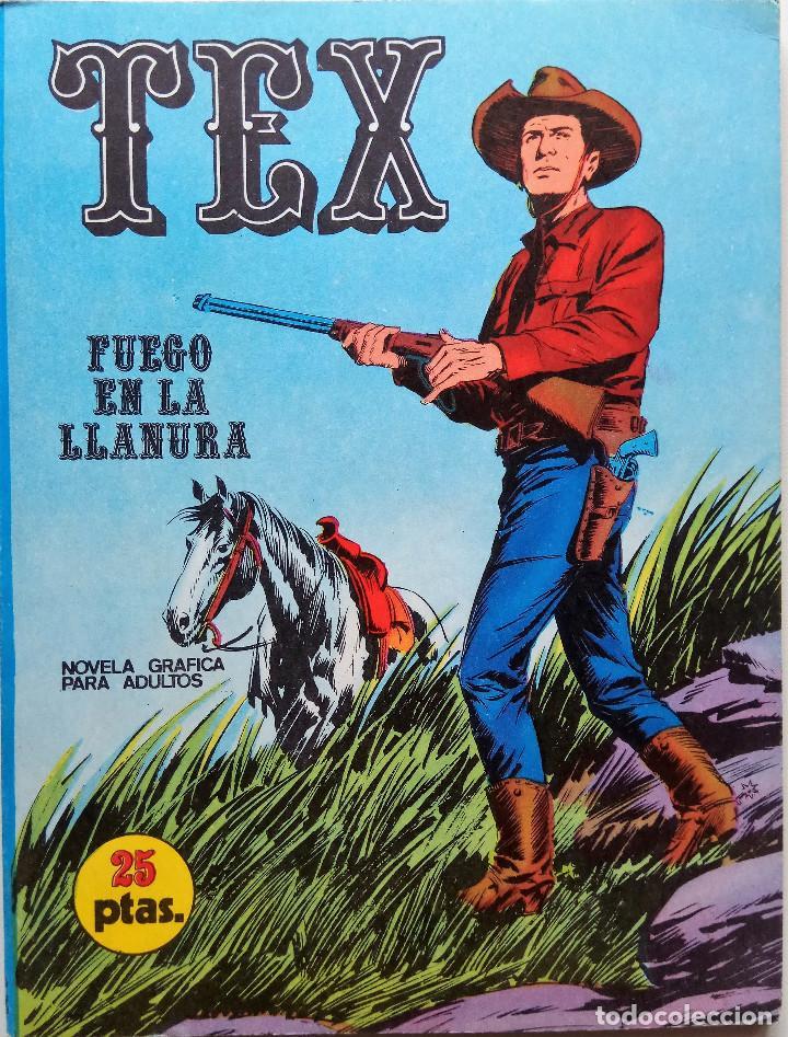 TEX Nº 17 - AÑO 1971 (Tebeos y Comics - Buru-Lan - Tex)