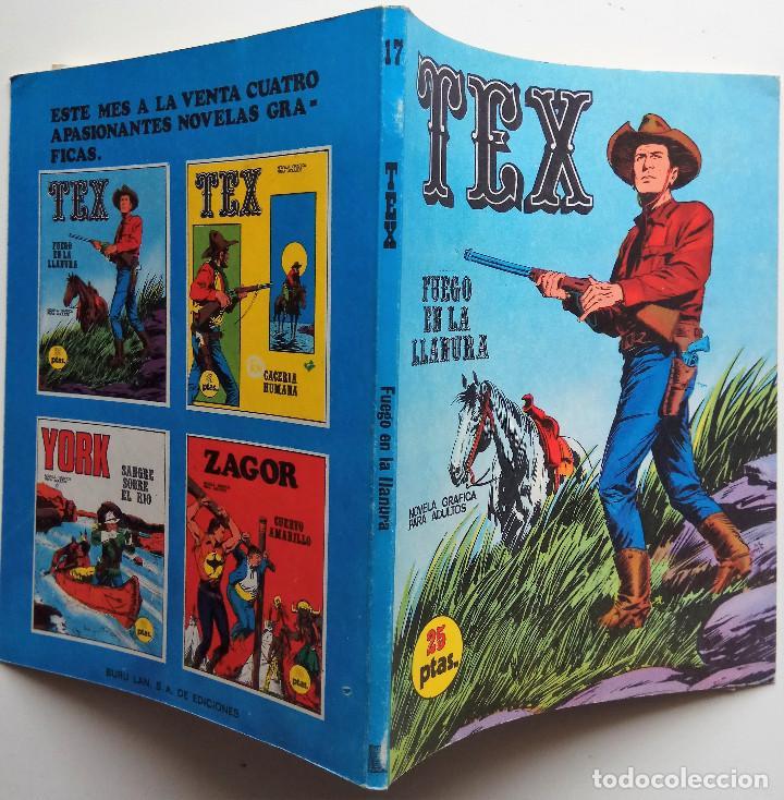 Cómics: TEX Nº 17 - AÑO 1971 - Foto 2 - 154529146