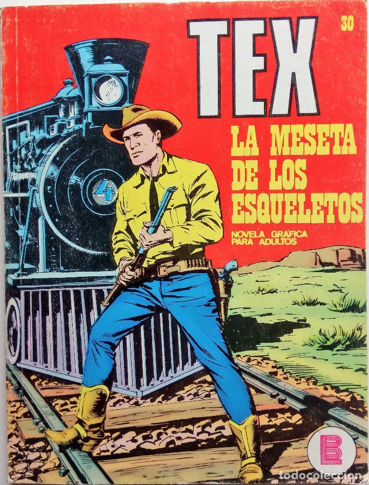 TEX Nº 30 - AÑO 1971 (Tebeos y Comics - Buru-Lan - Tex)