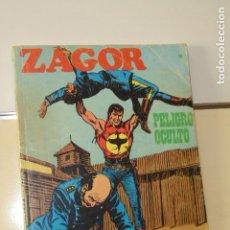 Comics : ZAGOR Nº 14 PELIGRO OCULTO - BURU LAN -. Lote 154770822