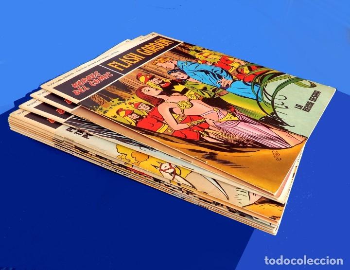 Cómics: FLASH GORDON, LOTE DE 10 FASCÍCULOS PERTENECIENTES AL TOMO 2, 1971 - BURU-LAN - COMO NUEVOS - Foto 2 - 84867252