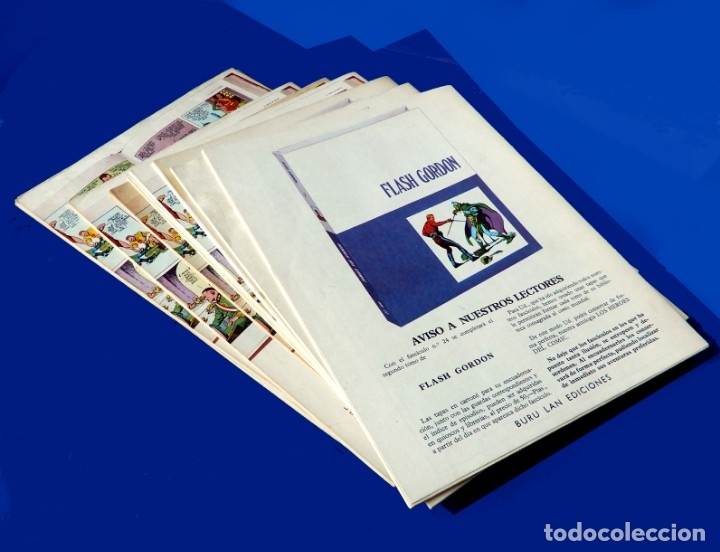 Cómics: FLASH GORDON, LOTE DE 10 FASCÍCULOS PERTENECIENTES AL TOMO 2, 1971 - BURU-LAN - COMO NUEVOS - Foto 23 - 84867252