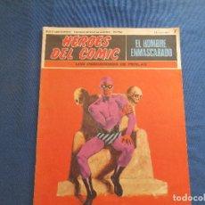 Cómics: HEROES DEL COMIC - EL HOMBRE ENMASCARADO 7 VOLUMEN I FASCÍCULO 7 - BURU LAN COMICS 12 MARZO 1971. Lote 154934206
