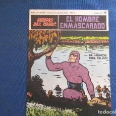 Cómics: HEROES DEL COMIC - EL HOMBRE ENMASCARADO 28 VOLUMEN III FASCÍCULO 28 - BURU LAN COMICS 6 AGOSTO 1971. Lote 154937542