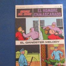 Cómics: HEROES DEL COMIC - EL HOMBRE ENMASCARADO 36 VOLUMEN III FASCÍCULO 36 BURU LAN COMICS 1 OCTUBRE 1971. Lote 154945278