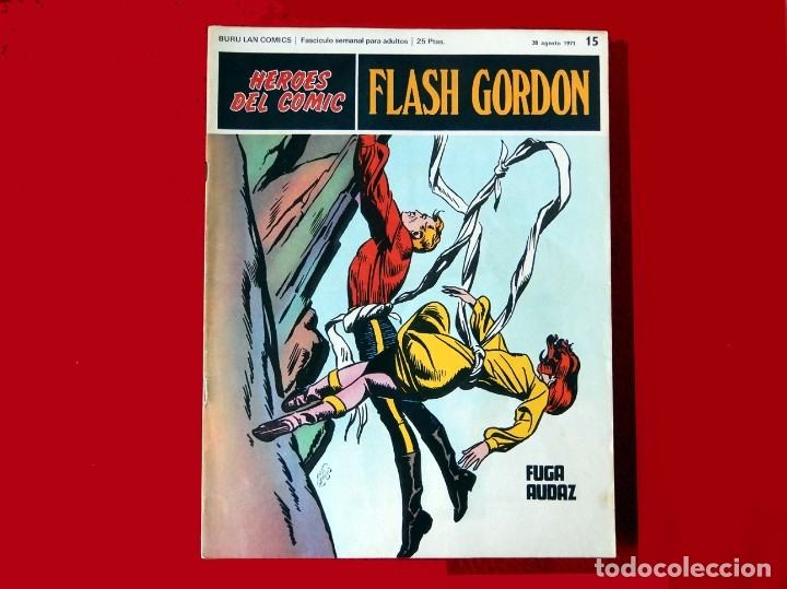 Cómics: FLASH GORDON, LOTE DE 10 FASCÍCULOS PERTENECIENTES AL TOMO 2, 1971 - BURU-LAN - BUEN ESTADO. - Foto 6 - 84867252