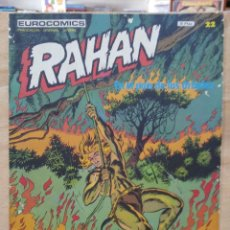 Cómics: RAHAN - Nº 22, EN EL PAÍS DE LOS ÁRBOLES - ED. BURU LAN. Lote 155220974