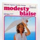 Cómics: COLECCIÓN AGENTES SECRETOS. MODESTY BLAISE FASCÍCULO 1 (JIM HADAWAY) BURULAN BURU LAN, 1973. Lote 155223434