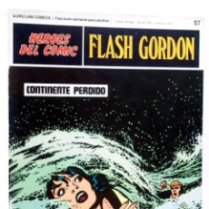 Cómics: HEROES DEL COMIC. FLASH GORDON 57. CONTINENTE PERDIDO (ALEX RAYMOND) BURULAN BURU LAN, 1971. Lote 155225000