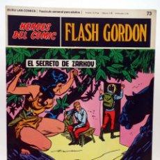 Cómics: HEROES DEL COMIC. FLASH GORDON 73. EL SECRETO DE ZARKOV (ALEX RAYMOND) BURULAN BURU LAN, 1971. Lote 155225156