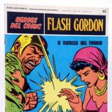 Cómics: HEROES DEL COMIC. FLASH GORDON 82. A MERCED DEL TIRANO (ALEX RAYMOND) BURULAN BURU LAN, 1971. Lote 155225180