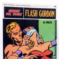 Cómics: HEROES DEL COMIC. FLASH GORDON 86. EL PACTO (ALEX RAYMOND) BURULAN BURU LAN, 1971. Lote 155225184