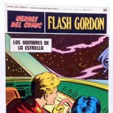 Cómics: HEROES DEL COMIC. FLASH GORDON 89. LOS HOMBRES DE LA ESTRELLA (ALEX RAYMOND) BURULAN BURU LAN, 1971. Lote 155225188
