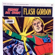 Cómics: HEROES DEL COMIC. FLASH GORDON 91. LAIKA (ALEX RAYMOND) BURULAN BURU LAN, 1971. Lote 155225192