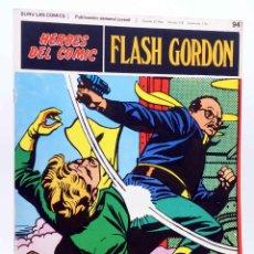 Cómics: HEROES DEL COMIC. FLASH GORDON 94. LOS SKORPIS (ALEX RAYMOND) BURULAN BURU LAN, 1971. Lote 155225496