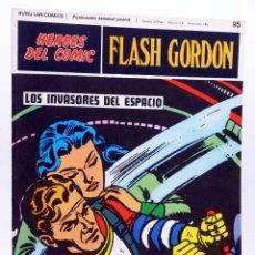 Cómics: HEROES DEL COMIC. FLASH GORDON 95. LOS INVASORES DEL ESPACIO (ALEX RAYMOND) BURULAN BURU LAN, 1971. Lote 155225500
