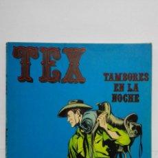 Cómics: TEX Nº 4, TAMBORES EN LA NOCHE, EDICIONES BURU LAN, 1970. Lote 155376690