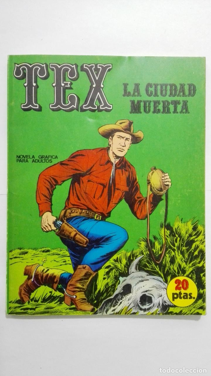 TEX Nº 5, LA CIUDAD MUERTA, EDICIONES BURU LAN, 1970 (Tebeos y Comics - Buru-Lan - Tex)