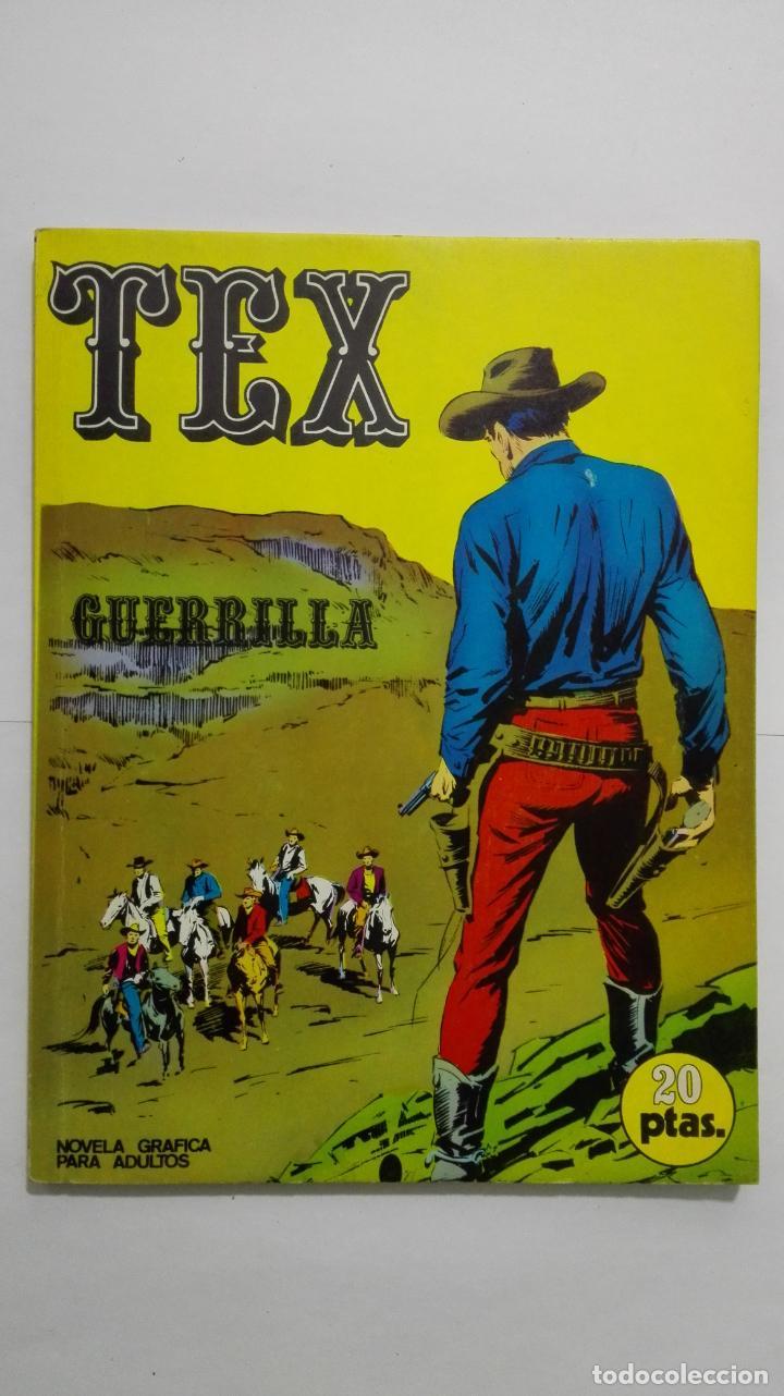 TEX Nº 6, GUERRILLA, EDICIONES BURU LAN, 1970 (Tebeos y Comics - Buru-Lan - Tex)