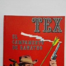 Cómics: TEX Nº 8, EL CAMPAMENTO DE RAWATHO, EDICIONES BURU LAN, 1970. Lote 155377458