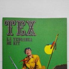 Cómics: TEX Nº 9, LA VENGANZA DE KIT, EDICIONES BURU LAN, 1971. Lote 155377598