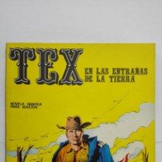 Cómics: TEX Nº 10, EN LAS ENTRAÑAS DE LA TIERRA, EDICIONES BURU LAN, 1971. Lote 155377786