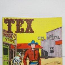Cómics: TEX Nº 11, CITA MORTAL, EDICIONES BURU LAN, 1971. Lote 155377938