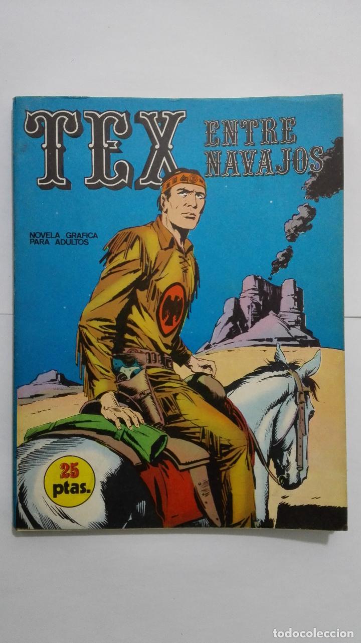 TEX Nº 12, ENTRE NAVAJOS, EDICIONES BURU LAN, 1971 (Tebeos y Comics - Buru-Lan - Tex)