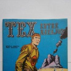 Cómics: TEX Nº 12, ENTRE NAVAJOS, EDICIONES BURU LAN, 1971. Lote 155378050