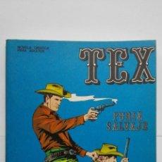 Cómics: TEX Nº 14, FURIA SALVAJE, EDICIONES BURU LAN, 1971. Lote 155378406